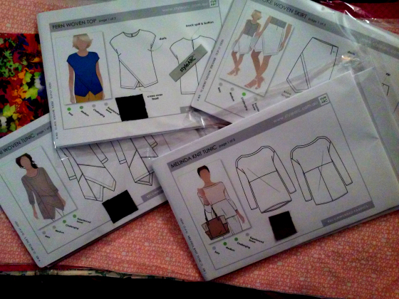 Happy mail day at Making the Flame, body positive sewing: new Style Arc patterns!