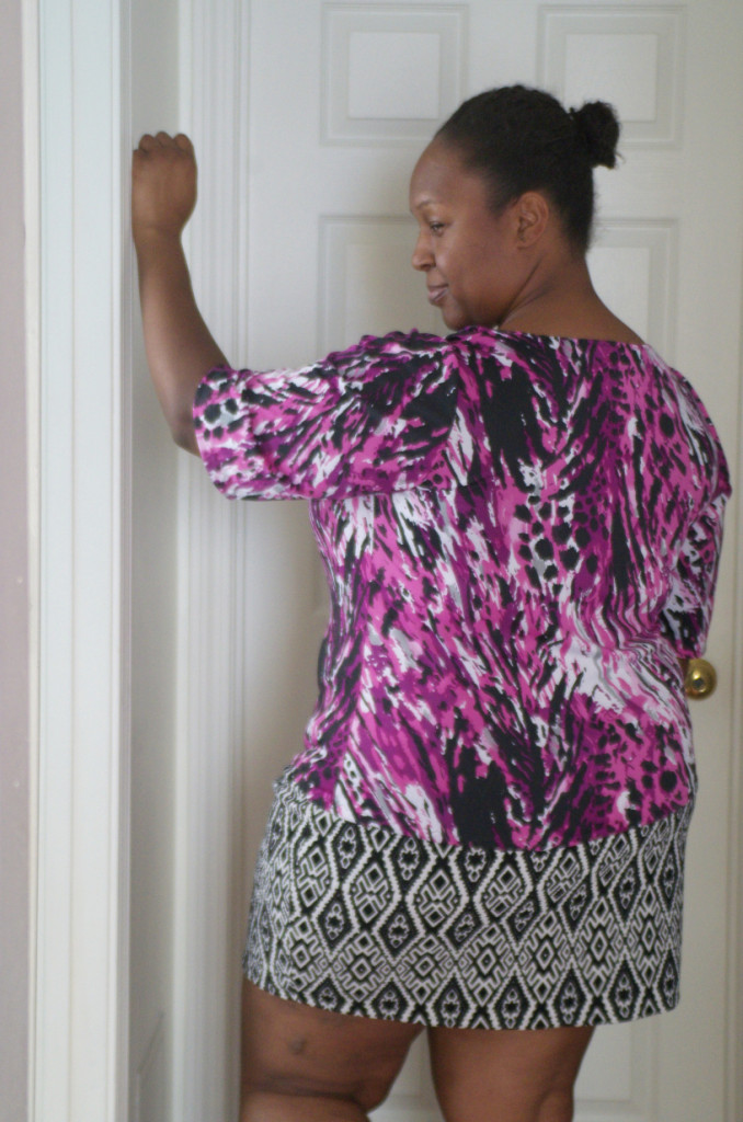 """Purple Animals: Two Wild New Shirts"" McCall's 6078 top – Making the Flame 