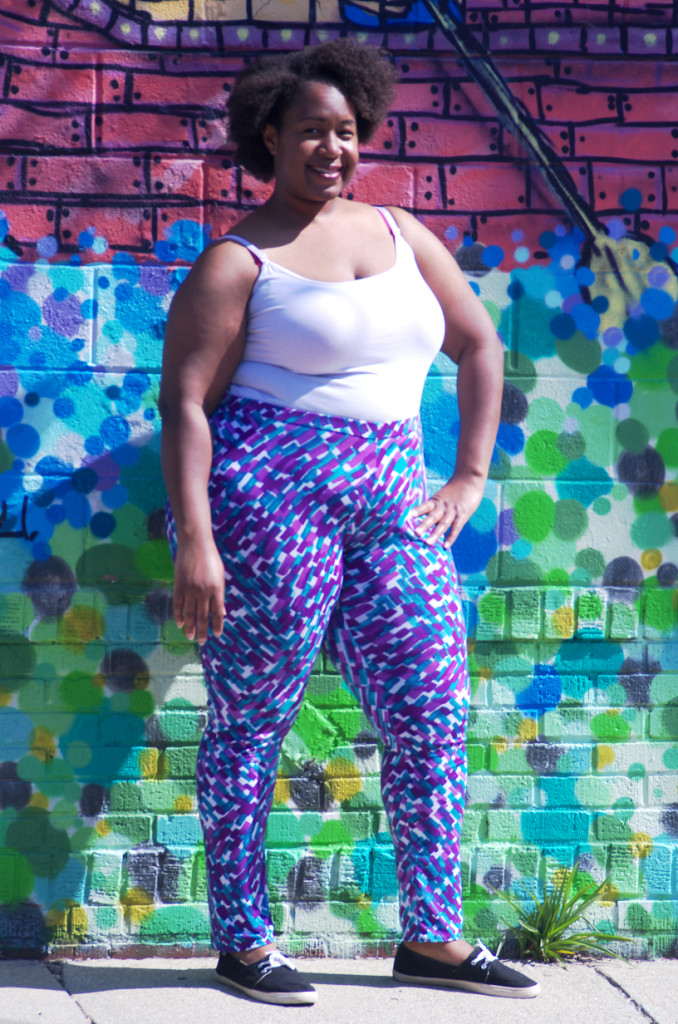 Body positive batch sewing creates a trio of leggings in a creative st @ Making the Flame.