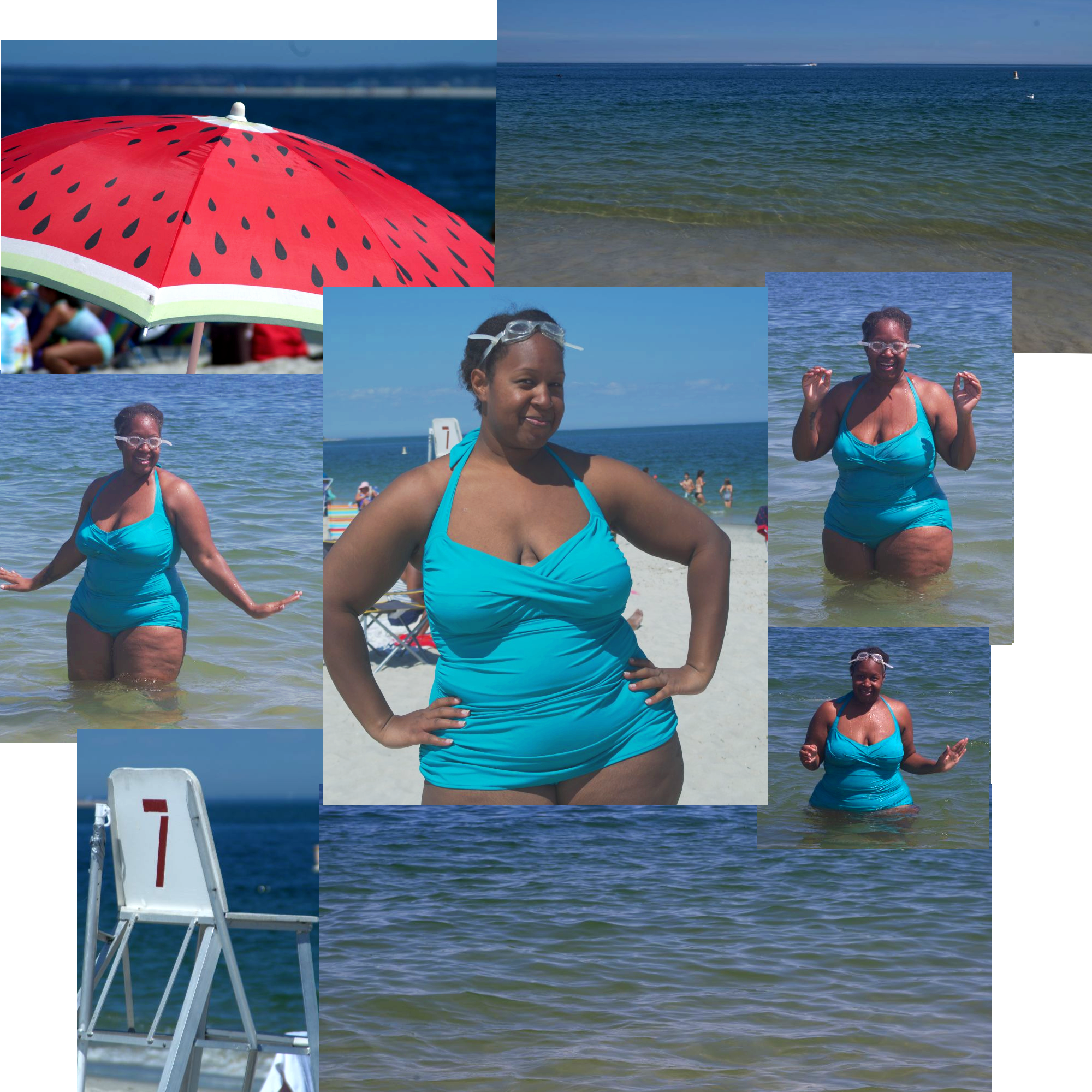 """Beach Body Positive Photo Essay"" by Ebi Poweigha for Saturday Musings. All rights reserved."