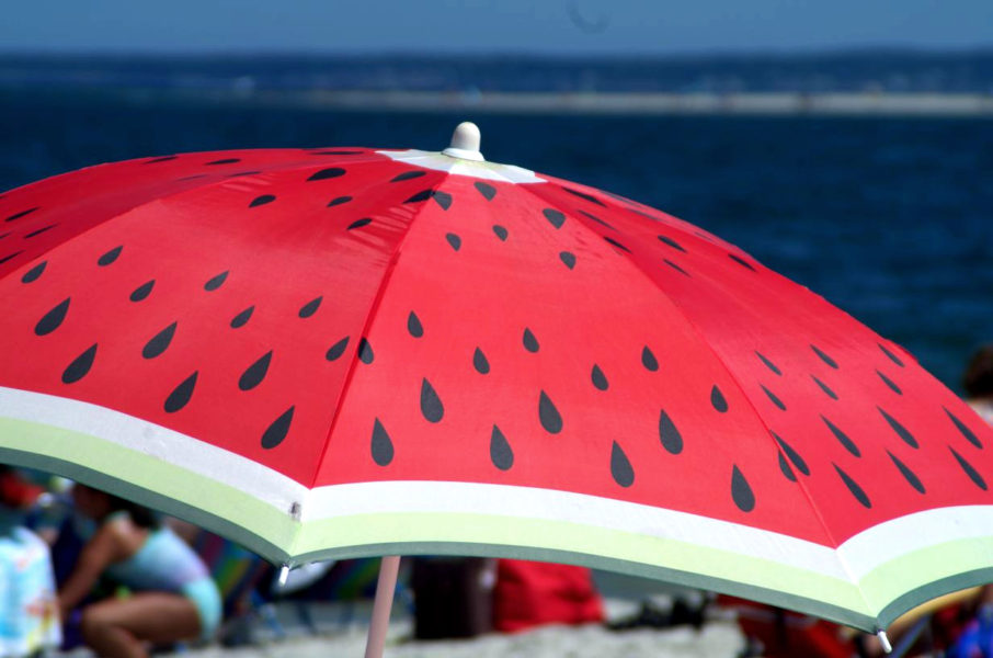 """Beach Umbrella"" by Ebi Poweigha, for Saturday Musings. All rights reserved."
