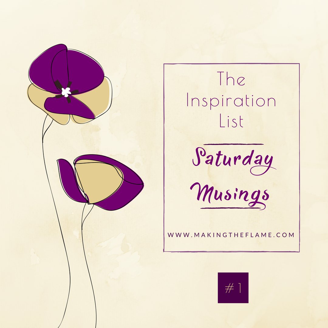 Inspiration List #1 on Saturday Musings, at Making the Flame. Body positive sewing and creative style.