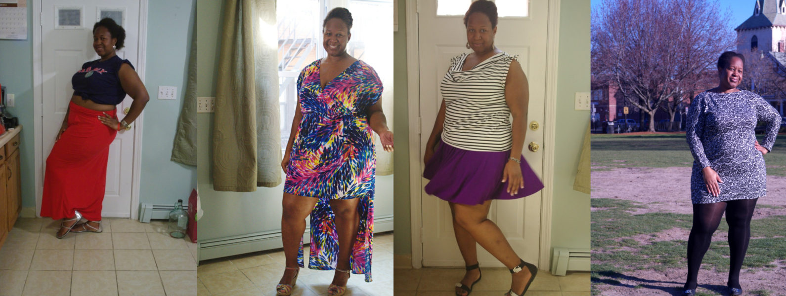 Maxi or mini - which do you prefer? Body positive sewing & style on Making the Flame.