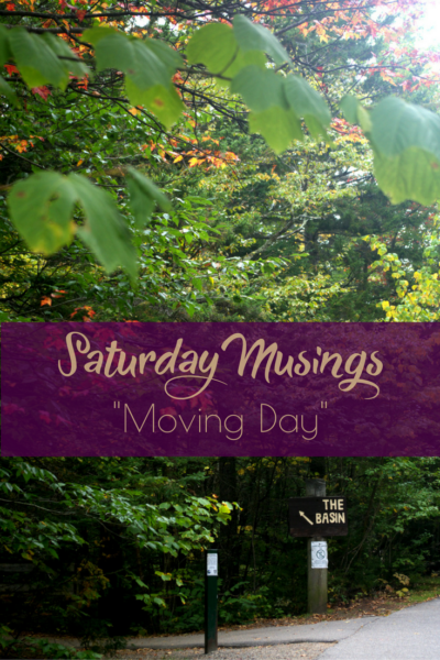 """""""Moving Day"""" Saturday Musings on Making the Flame."""